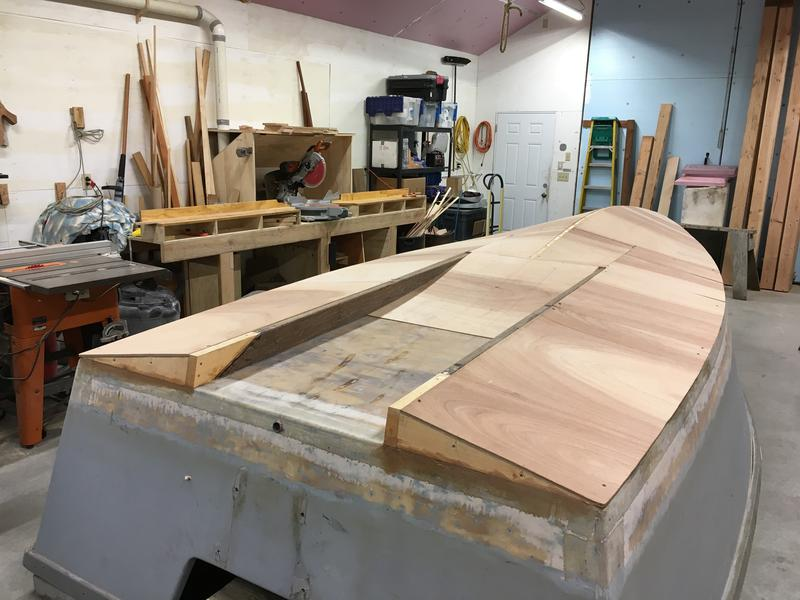 Building The Lost Dog A Lumber Yard Skiff